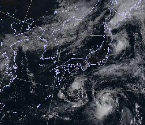 21日9時雲画像