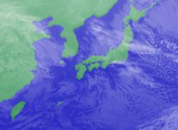 2月8日3時ひまわり雲画像