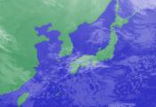 3月4日3時のひまわり雲画像